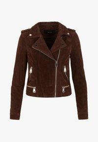 Vero Moda - VMROYCE - Leather jacket - coffee bean - 5