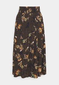 YAS - YASMARTA LONG SKIRT - A-line skirt - black - 1