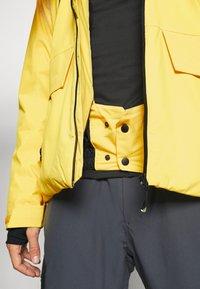 Brunotti - BORAN MENS SNOWJACKET - Snowboardová bunda - cyber yellow - 5