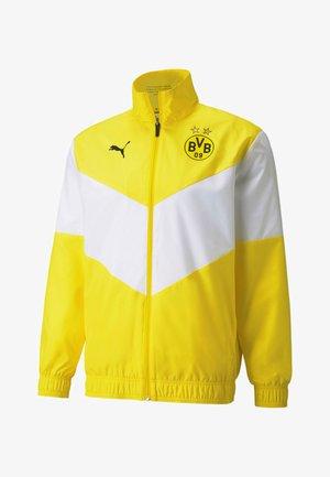 Training jacket - cyber yellow