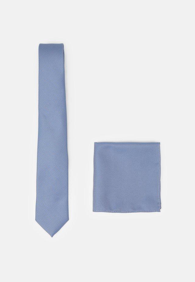SET - Krawat - blue