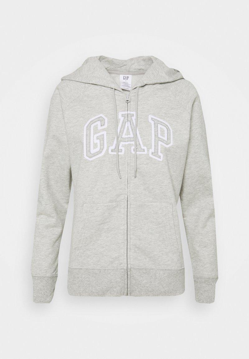GAP - Sweater met rits - grey heather