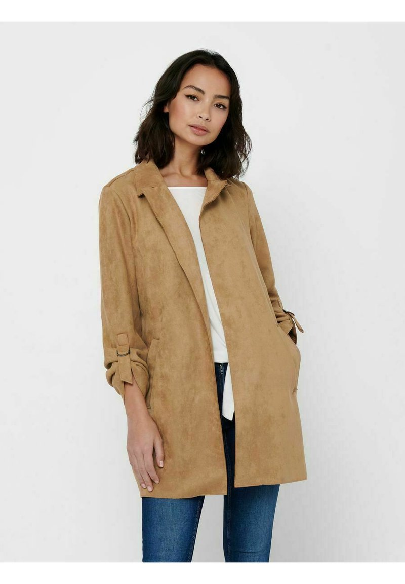 ONLY - Short coat - toasted coconut