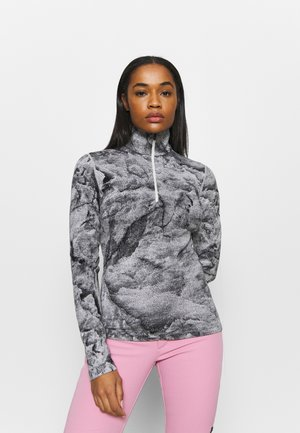 250 VERTEX HALF ZIP - Long sleeved top - snow