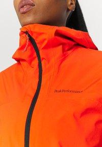 Peak Performance - NIGHTBREAK JACKET - Waterproof jacket - super nova deep earth - 4