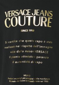 Versace Jeans Couture - MOUSE - Print T-shirt - black/gold - 7
