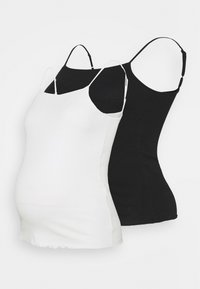 Anna Field MAMA - 2 PACK - TOP - Top - black/white - 0