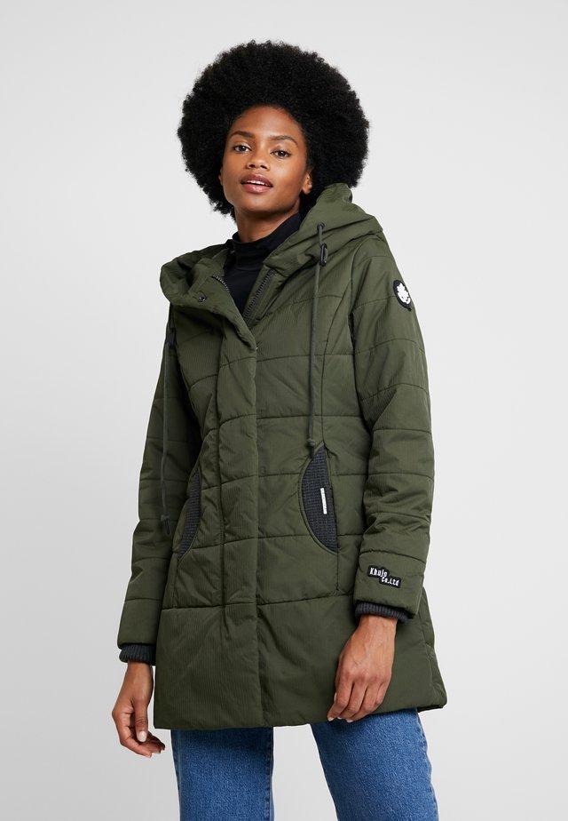 Short coat - forest green