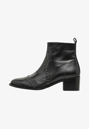 MIT NIETEN BIACAROL - Ankle boots - black