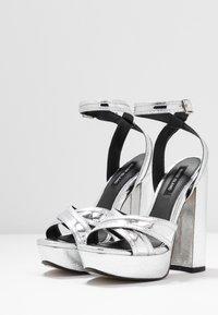 River Island - High heeled sandals - silver - 4