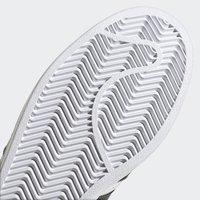 adidas Originals - SUPERSTAR VEGAN - Baskets basses - footwear white/core black/green - 11