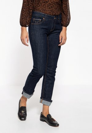 RED SELVAGE-STIL STELLA - Straight leg jeans - dunkelblau
