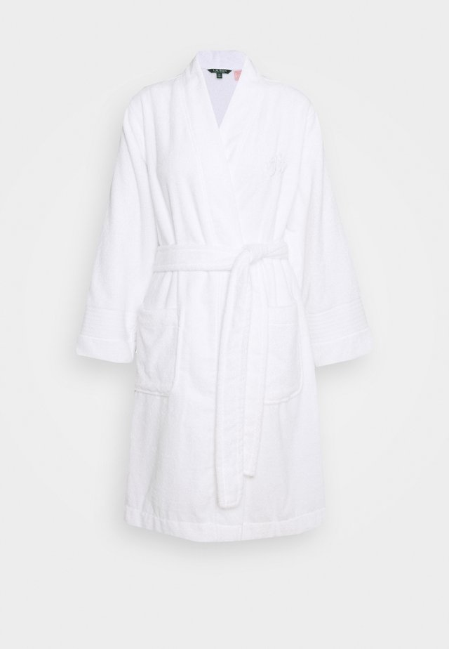 CORE GREENWICH ROBES - Badjas - white