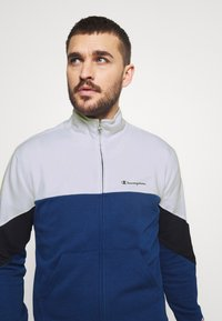 Champion - FULL ZIP SUIT - Tracksuit - blue/white - 6