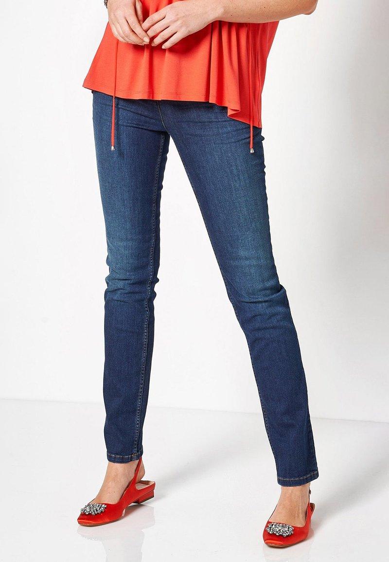 TONI - BELOVED CS - Slim fit jeans - 582 blue used