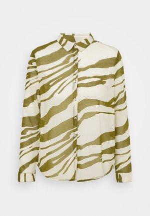 IHBIKKA - Button-down blouse - fir green