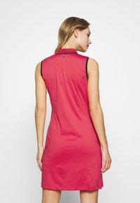 Callaway - SOLID GOLF DRESS - Sukienka sportowa - virtual pink - 2