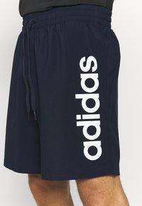 adidas Performance - CHELSEA - Sports shorts - legend ink/white - 3