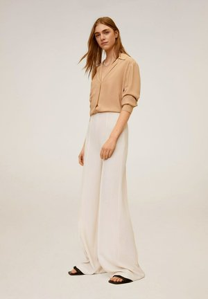 JUSTO-I - Trousers - open beige