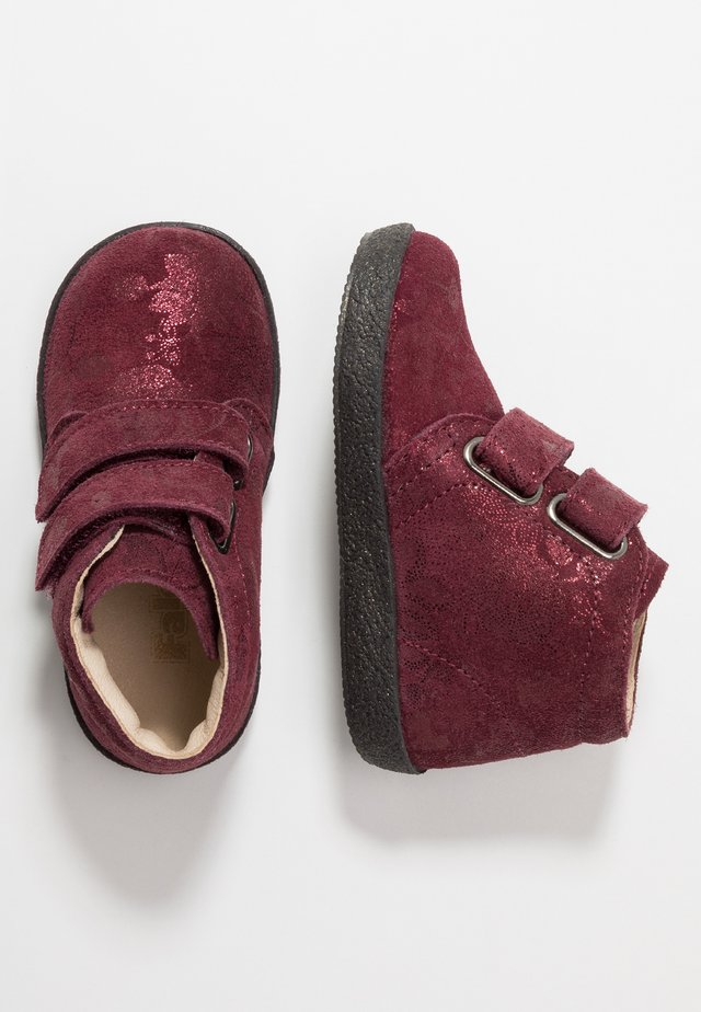 CONTE - Baby shoes - bordeaux rot