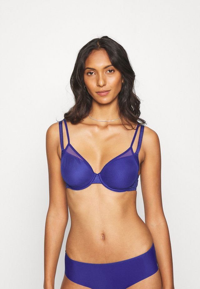 SUN BEDECKENDER SPACER - Underwired bra - navy