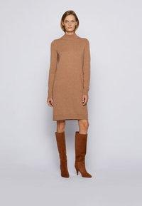 BOSS - C_FABELLETTA - Day dress - light brown - 0