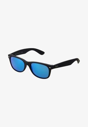 Okulary przeciwsłoneczne - black/grey/mirror blue