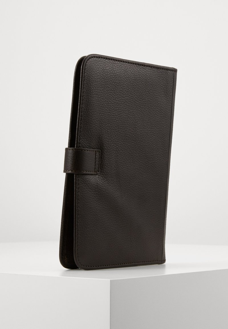 Barbour - KILNSEY NOTEBOOK COVER - Travel accessory - dark brown