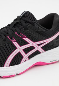 ASICS - GEL-CONTEND - Neutral running shoes - black/pink glo - 5