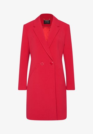 Classic coat - kirschrot