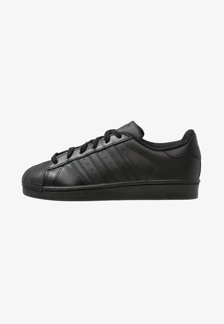 adidas Originals - SUPERSTAR FOUNDATION - Trainers - core black