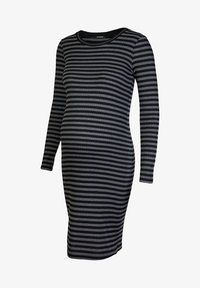 Supermom - STRIPE - Jersey dress - black - 3