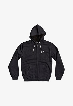 MIT SHERPA-FUTTER UND - Zip-up hoodie - dark grey heather