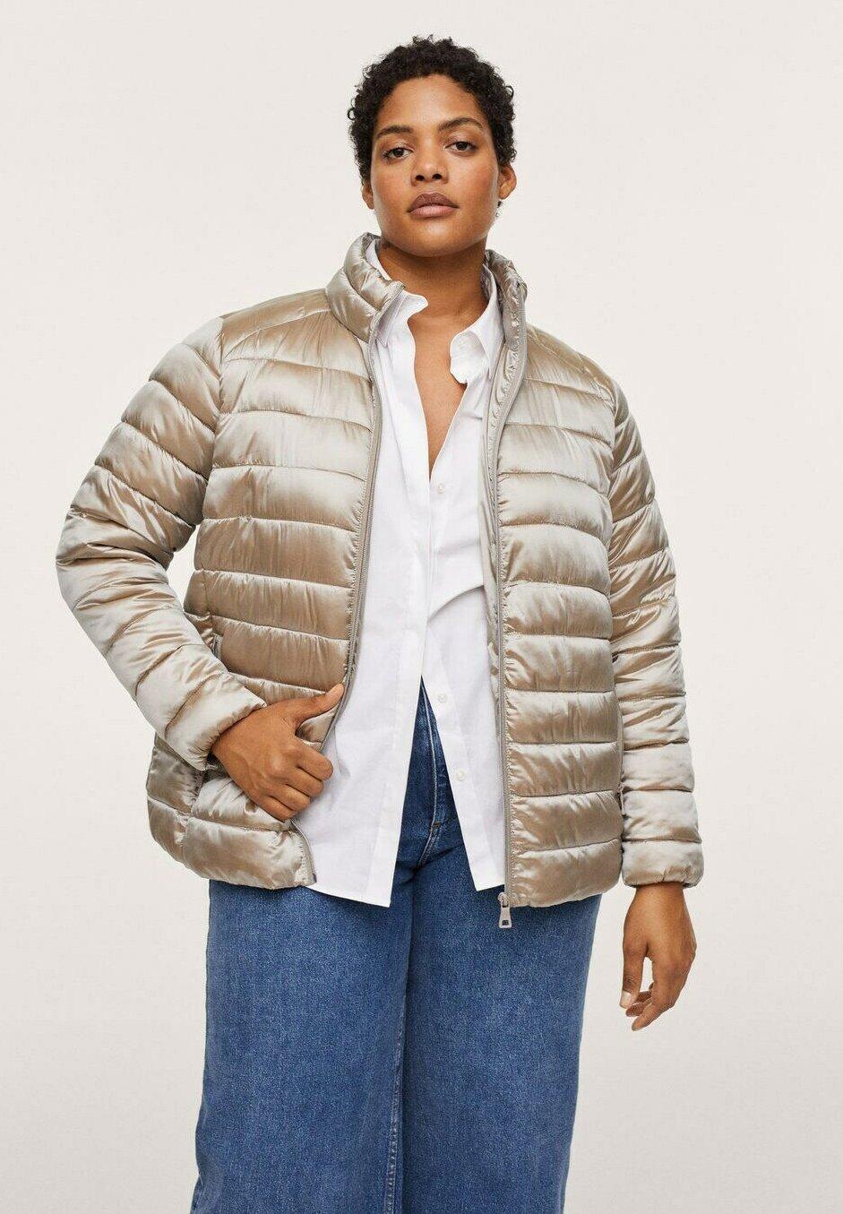 Women MIT SEITLICHEN ZIPPERN - Winter jacket