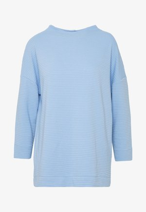 STRUCTURED MOCK NECK - Jumper - parisienne blue