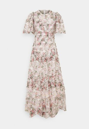 LUNETTE FLORAL SWAN ANKLE GOWN - Galajurk - moonshine