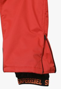 SuperRebel - SKI PANT PLAIN - Skibroek - neon red - 3