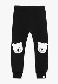 Tobias & The Bear - BABY BEAR PORTRAIT - Leggings - Trousers - black - 0