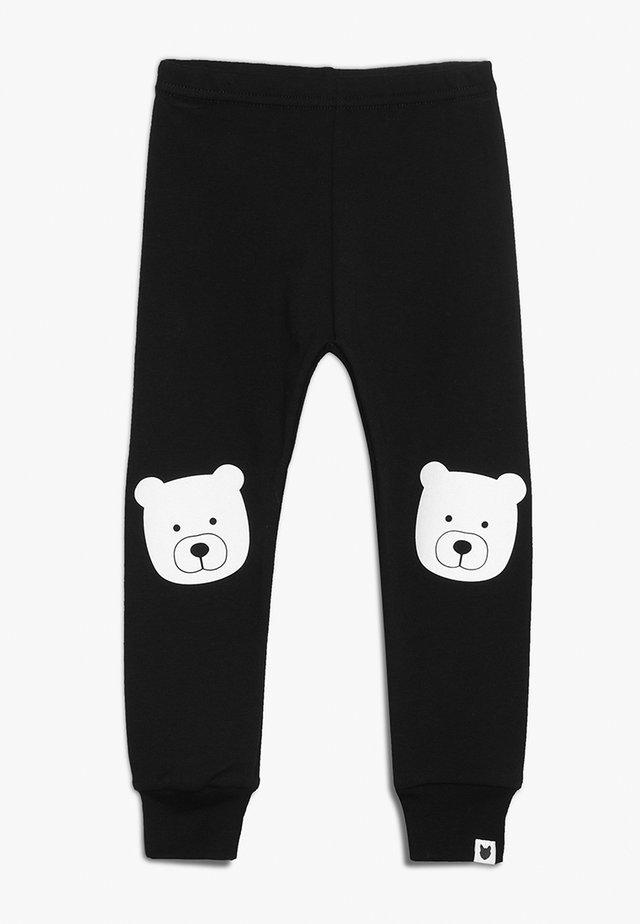 BABY BEAR PORTRAIT - Legginsy - black