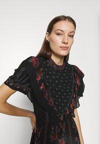 Farm Rio - EMBROIDERED FLORAL MAXI DRESS - Maxi dress - multi - 3