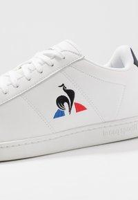 le coq sportif - COURTSET - Zapatillas - optical white/dress blue - 5