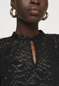 Bruuns Bazaar - ALEXANDRIA CAMARI DRESS - Shirt dress - black - 4