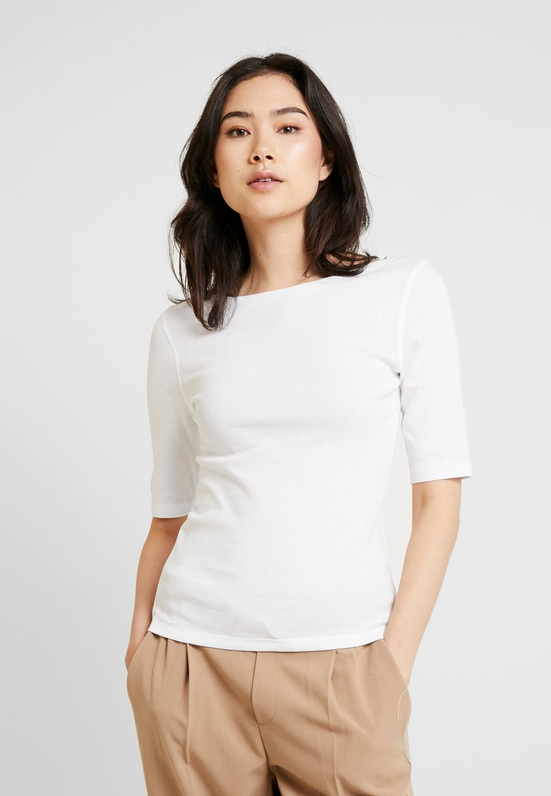 Opus - DAILY - Basic T-shirt - white