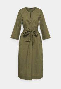 J.CREW - BELTED TUNIC - Denní šaty - frosty olive - 4
