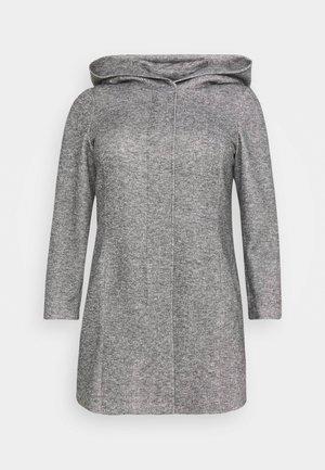 VMVERODONA - Krátký kabát - dark grey melange