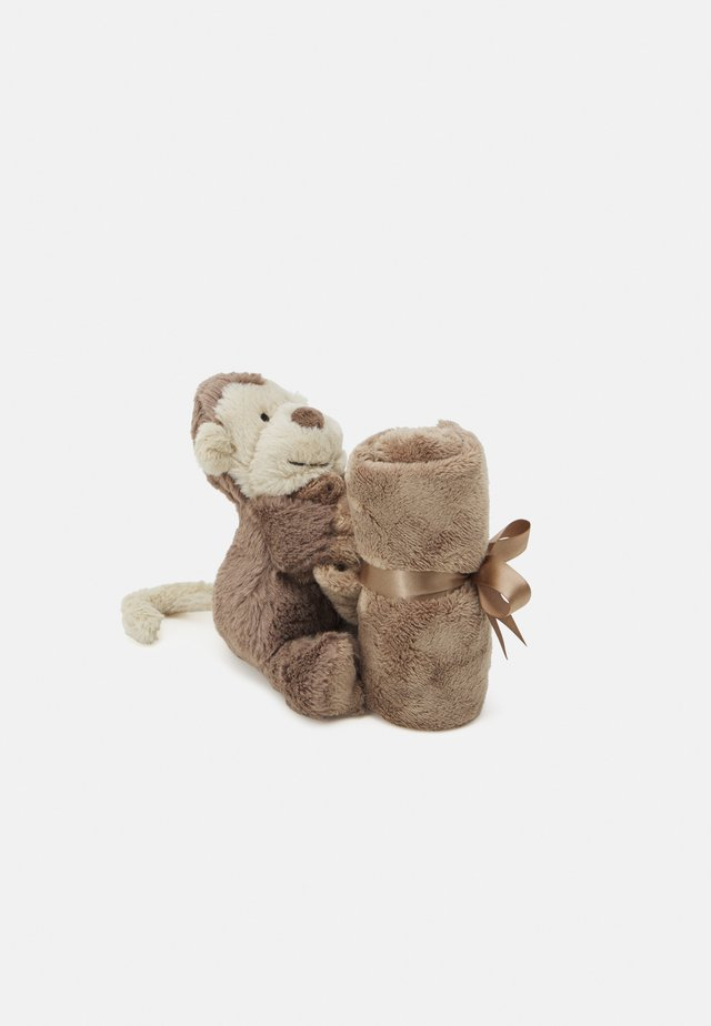 BASHFUL MONKEY SOOTHER UNISEX - Bamser - brown