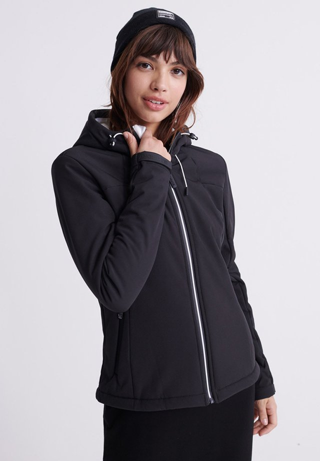 Fleece jacket - manor house black