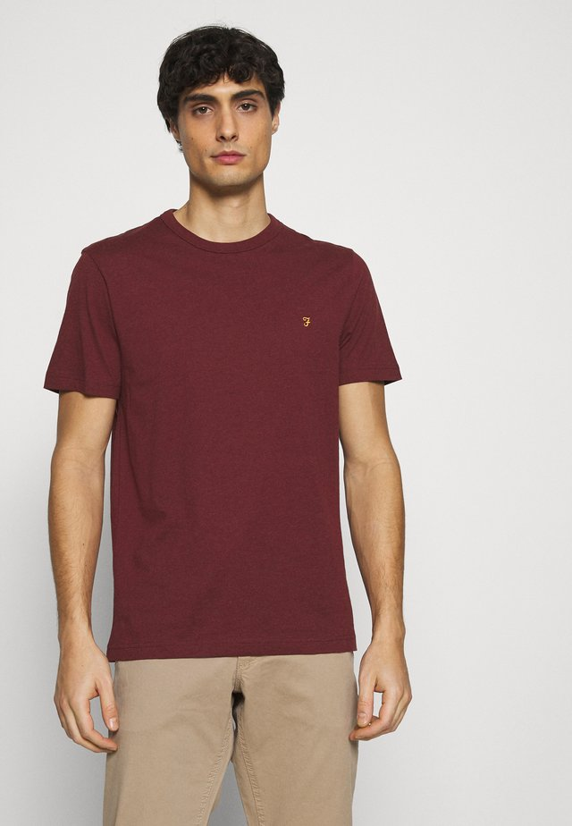 DANNY TEE - T-shirt basique - red marl