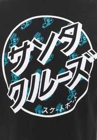 Santa Cruz - OFF HANDO DOT UNISEX  - T-shirt imprimé - black - 3