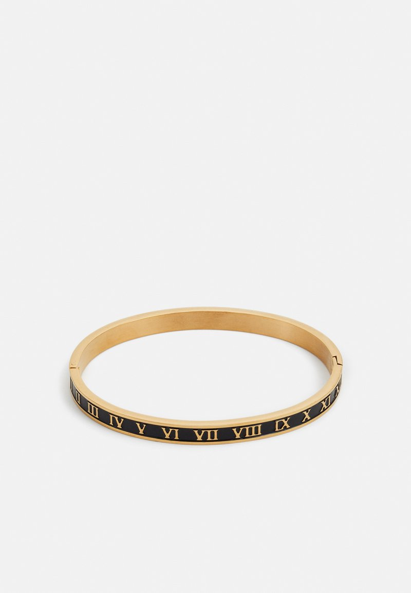 Burton Menswear London - ROMAN NUMERALS BANGLE - Bracelet - gold-coloured